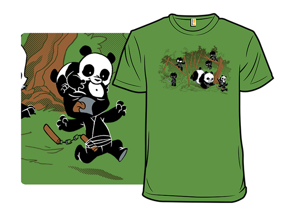 Unstealthiest Ninja: When Animals Attack T Shirt