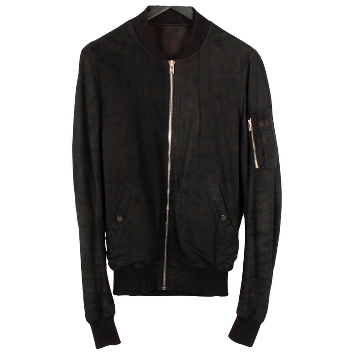 Rick Owens \N Black Leather jacket  for Men M International