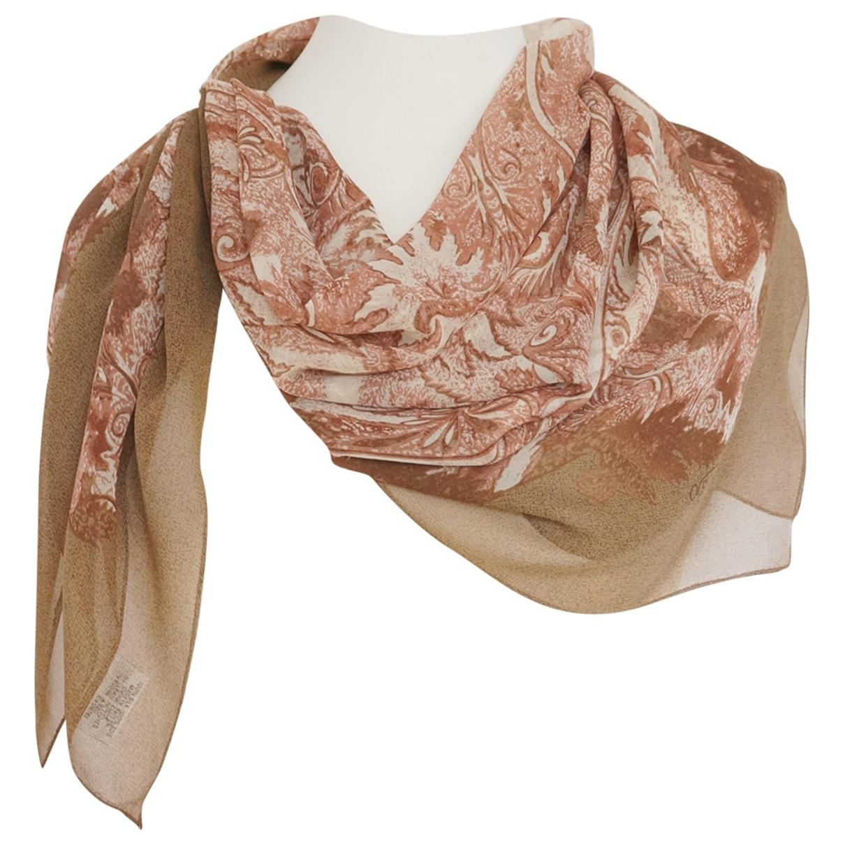 Oscar De La Renta \N Multicolour Silk scarf for Women \N
