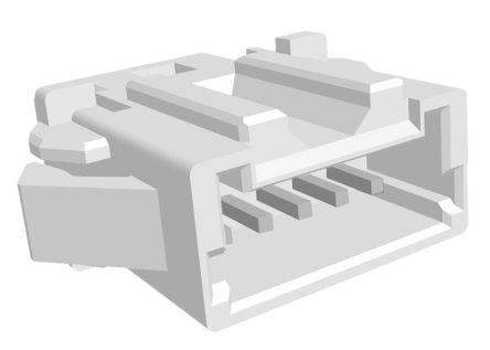 TE Connectivity , AMP Mini CT, 5 Way, 1 Row, Straight PCB Header (10)