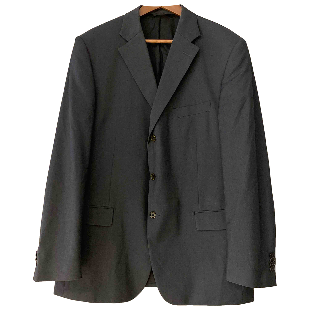 Balmain N Grey Wool jacket  for Men 54 FR