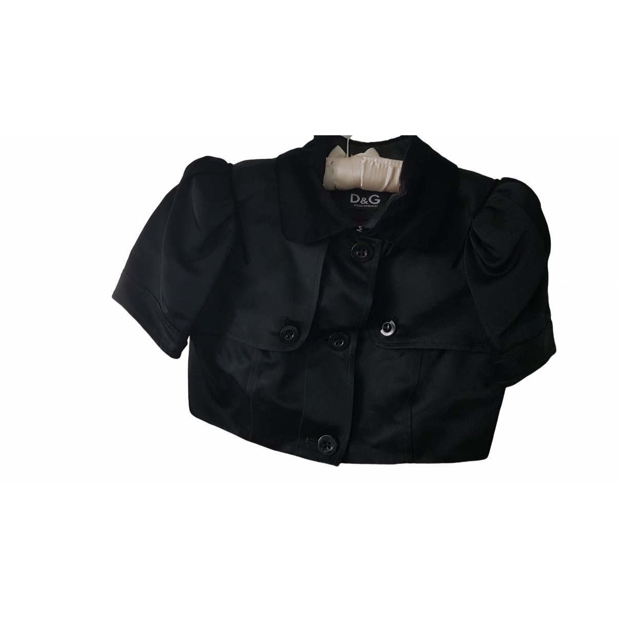 D&g \N Black Cotton jacket for Women 38 FR