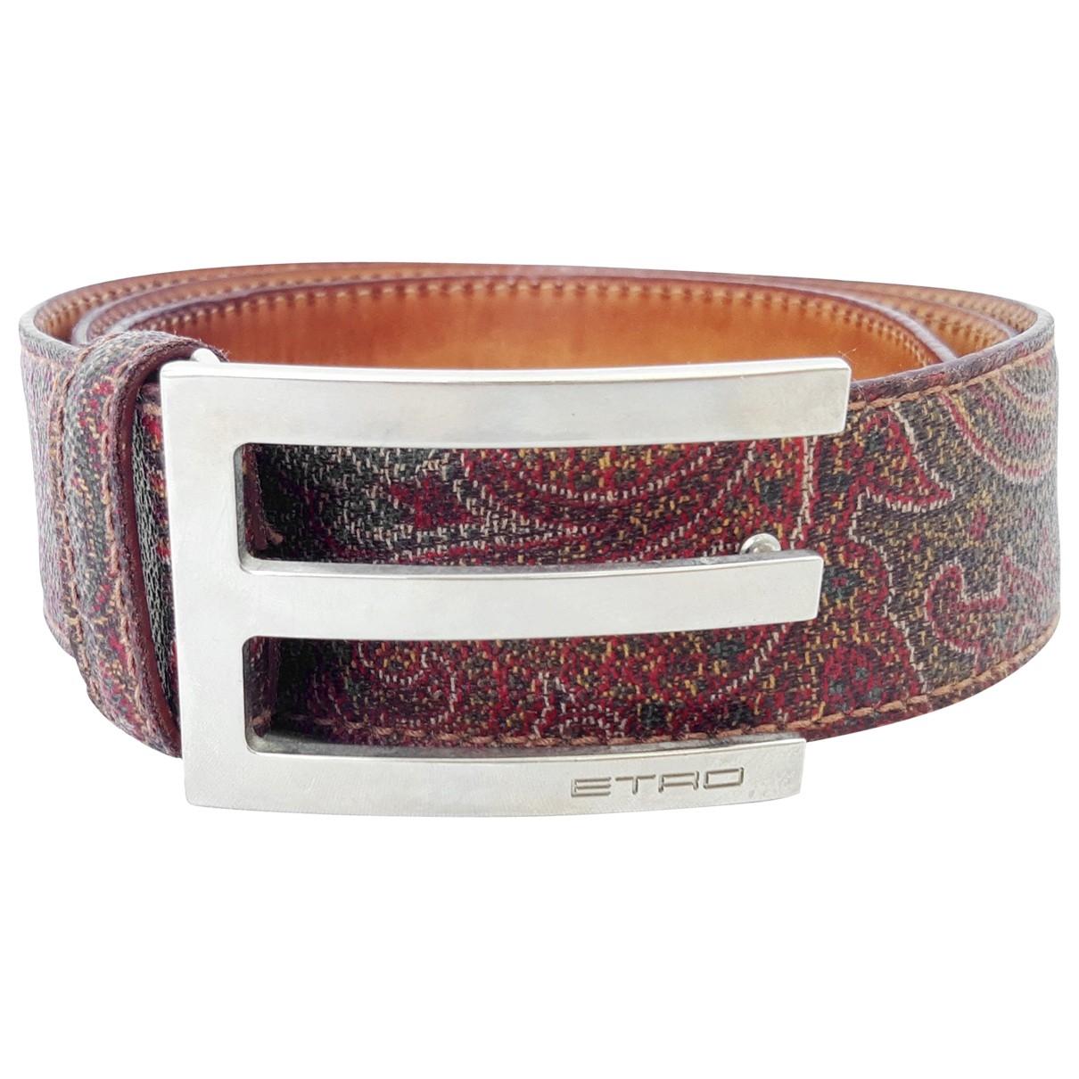 Etro \N Cloth belt for Women 95 cm
