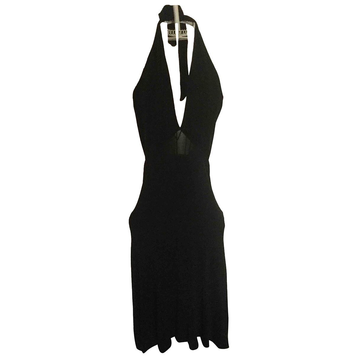 La Perla \N Kleid in  Schwarz Viskose