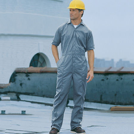 Sweet Company Short Sleeve Workwear Coveralls-Big and Tall, 56 , Blue