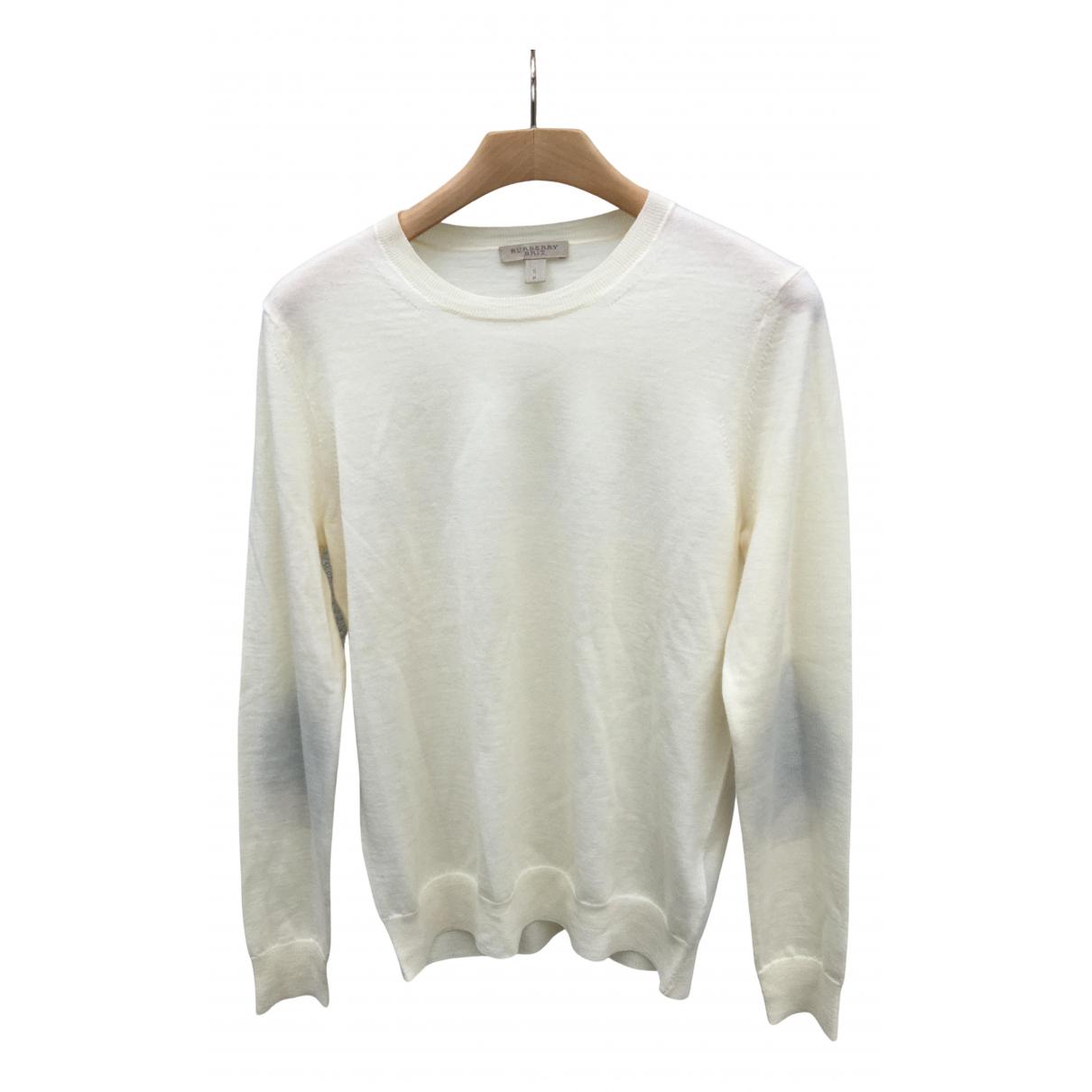 Burberry N White Wool Knitwear for Women S International