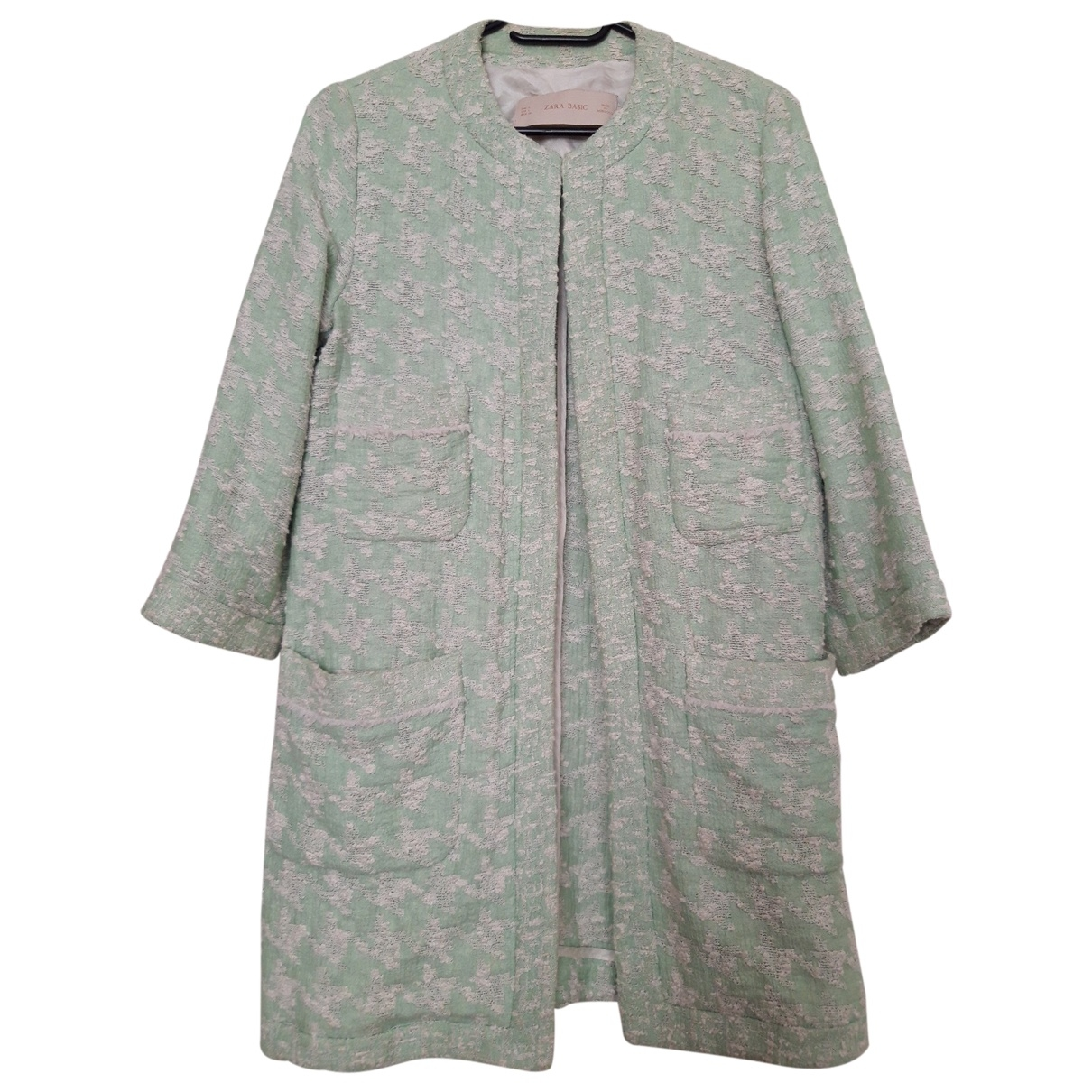 Zara \N Green Cotton coat for Women L International