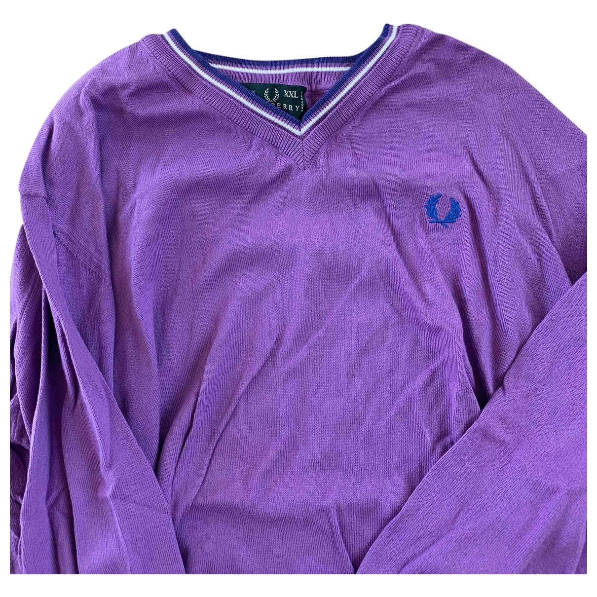 Fred Perry \N Pullover.Westen.Sweatshirts  in  Lila Wolle