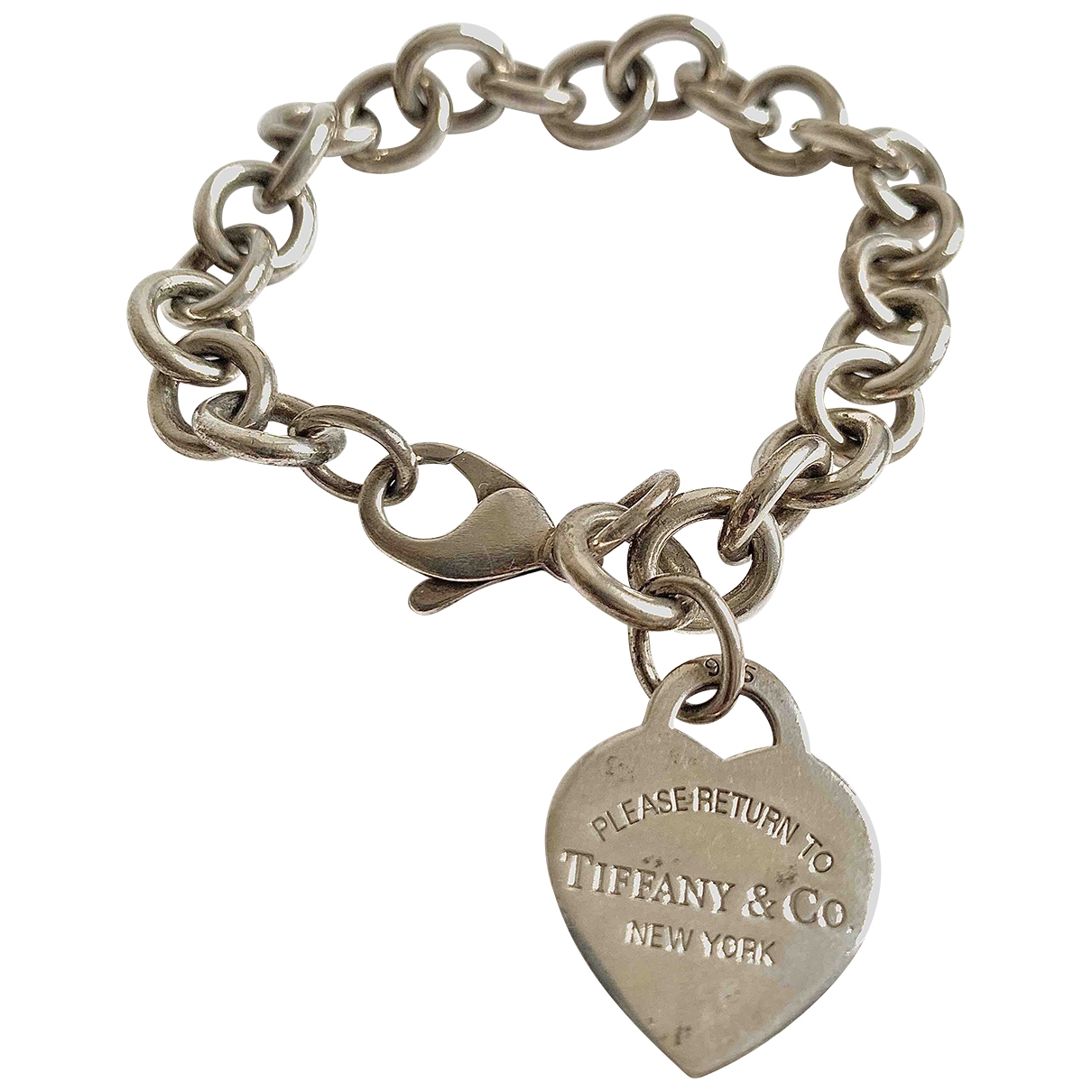 Tiffany & Co - Bracelet Return to Tiffany pour femme en argent - argente