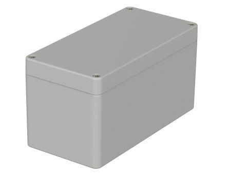Bopla Euromas, Light Grey ABS Enclosure, IP66, Flanged, 160 x 80 x 85mm