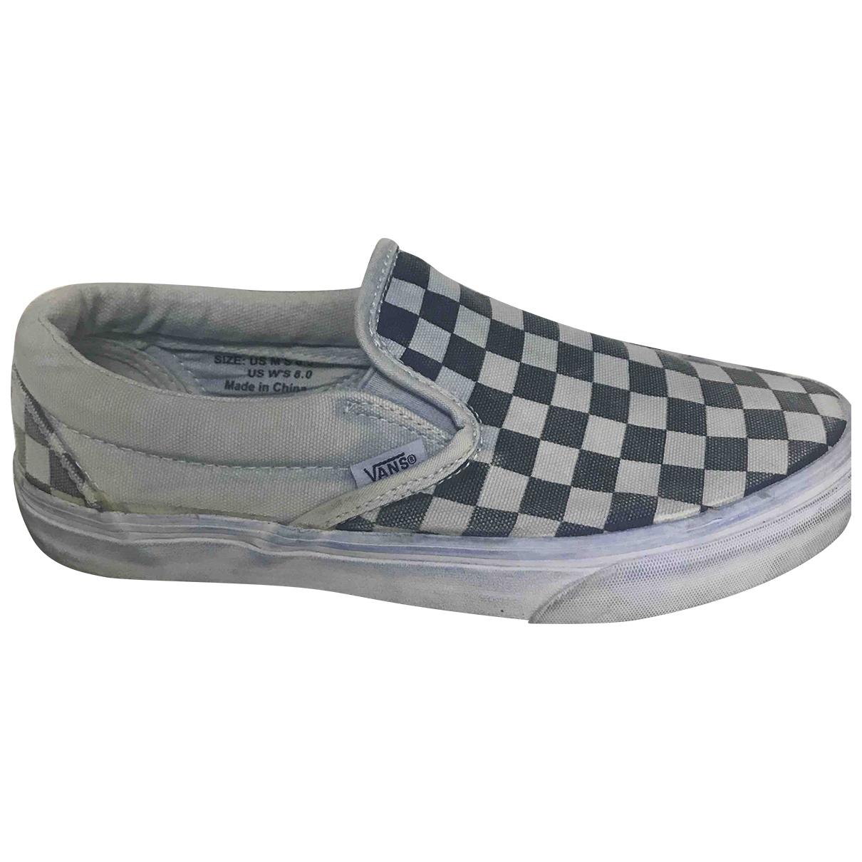 Vans \N Sneakers in Leinen