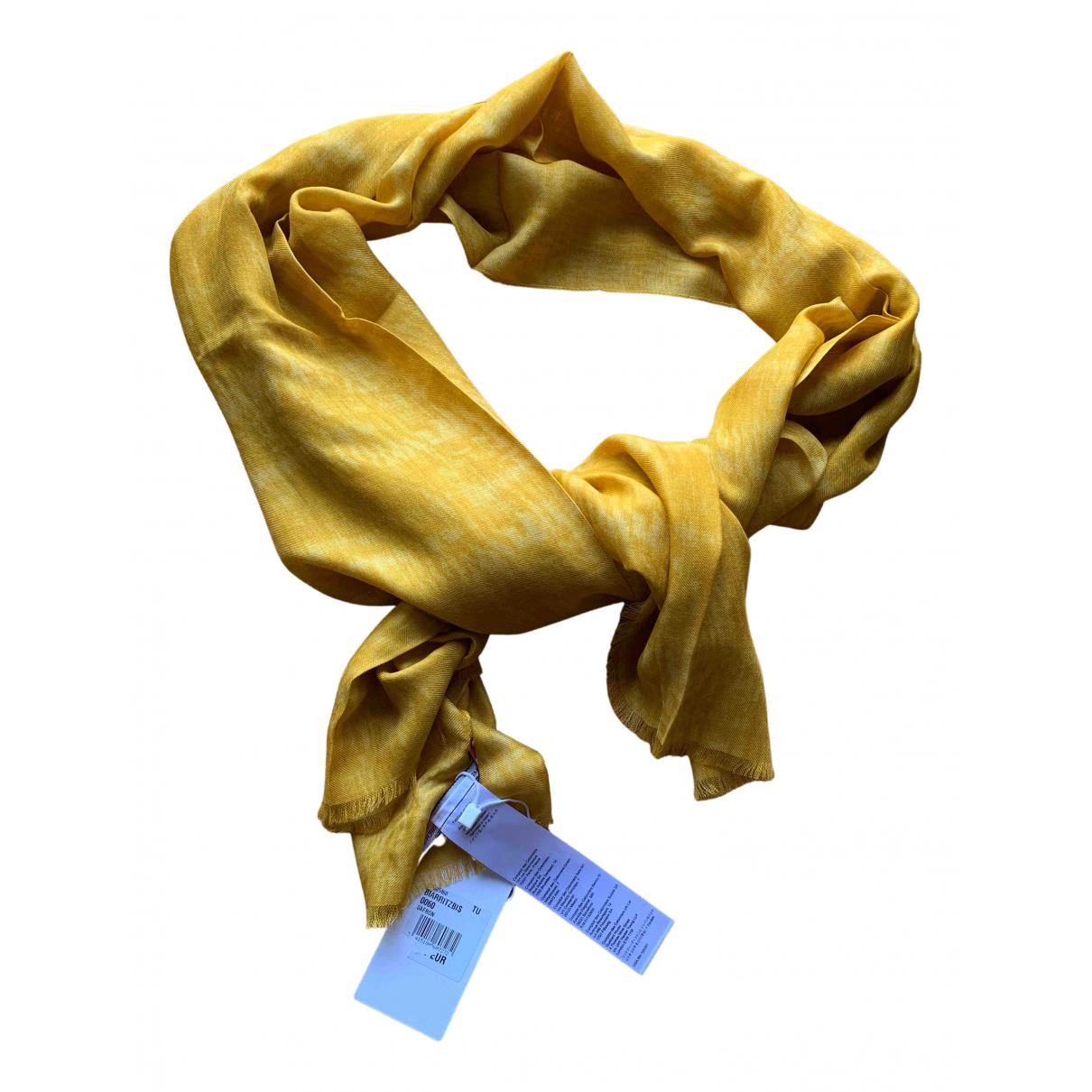 Comptoir Des Cotonniers - Foulard   pour femme - jaune