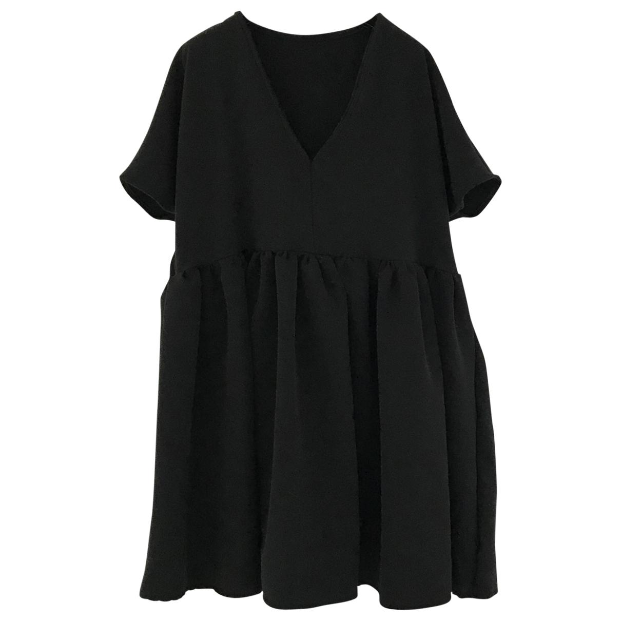 - Robe Oversize pour femme - noir