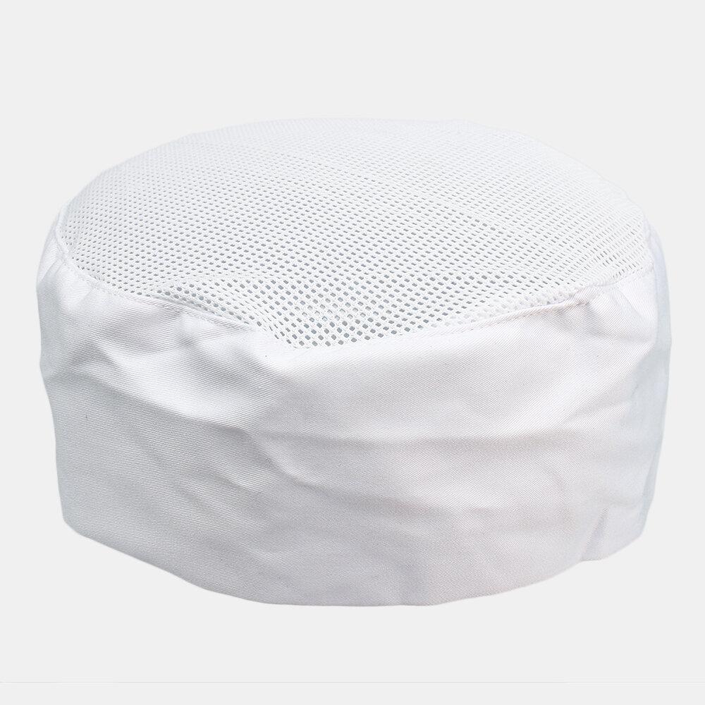 Professionel Chefs Chapeau Maille Top Skull Cap Restaurant Cuisine Catering Hat