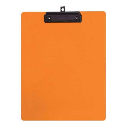 Geo@ taille r edaction de lettres de presse-papiers en plastique - orange 246991