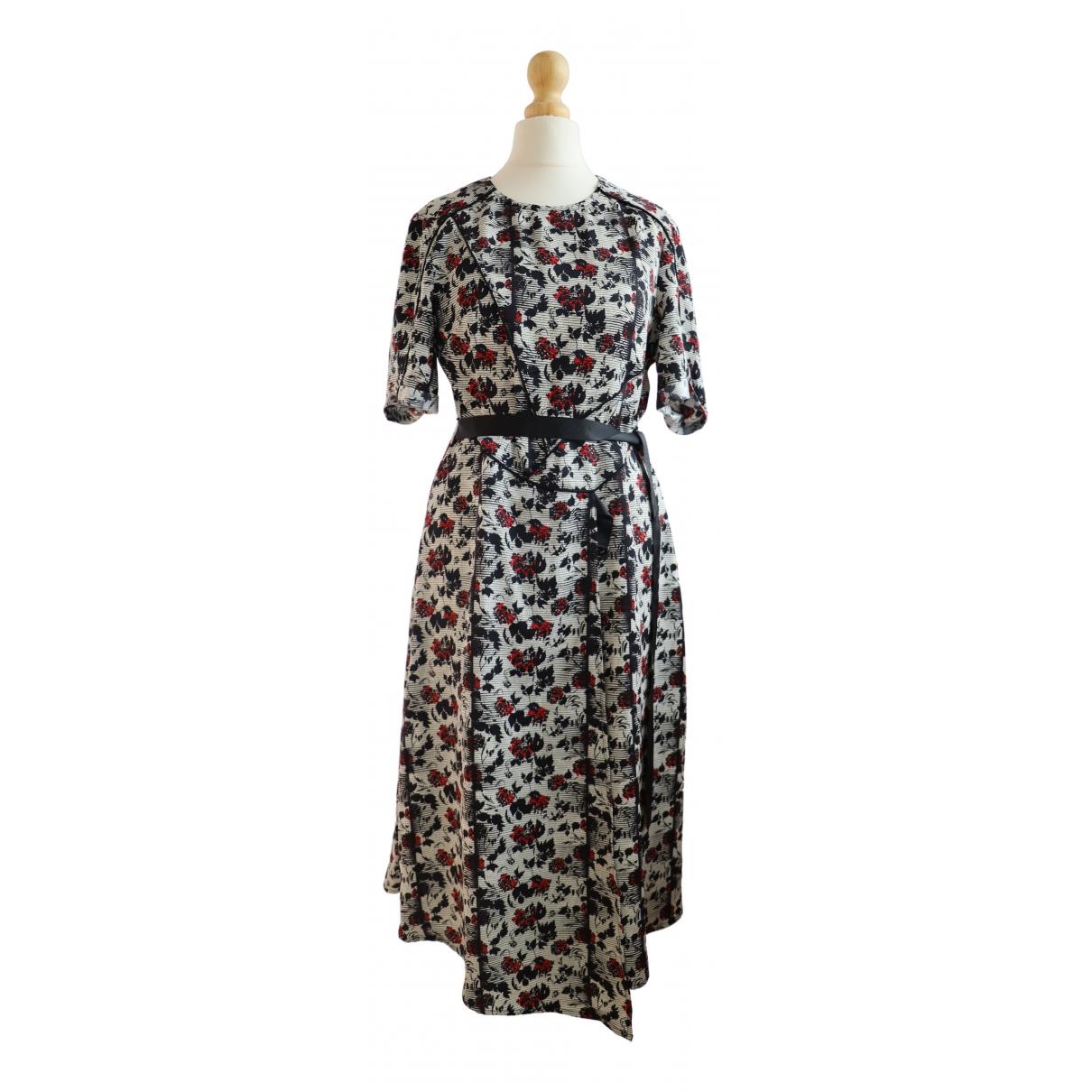 Tophop \N Kleid in  Weiss Polyester