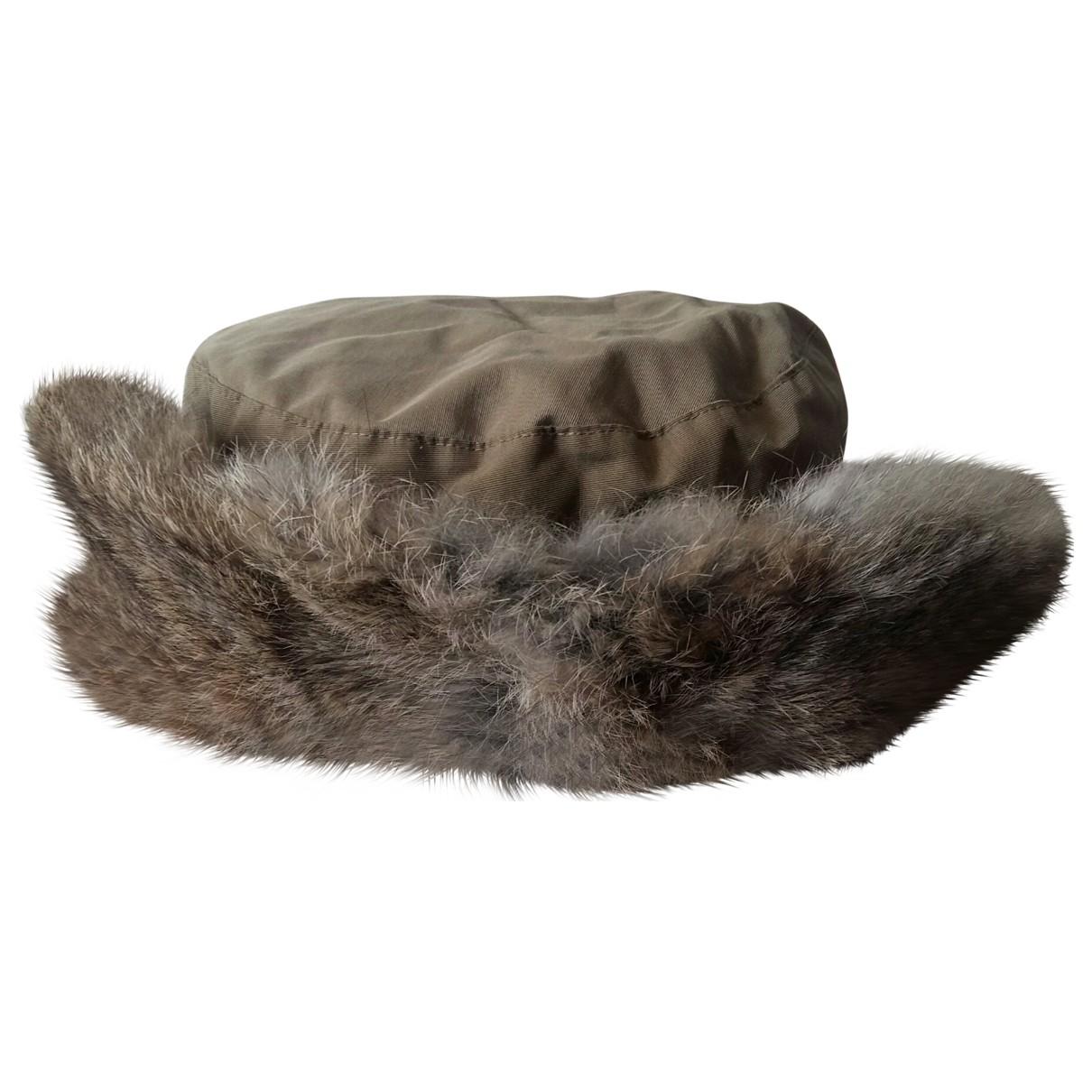 Woolrich \N Ecru Rabbit hat for Women S International