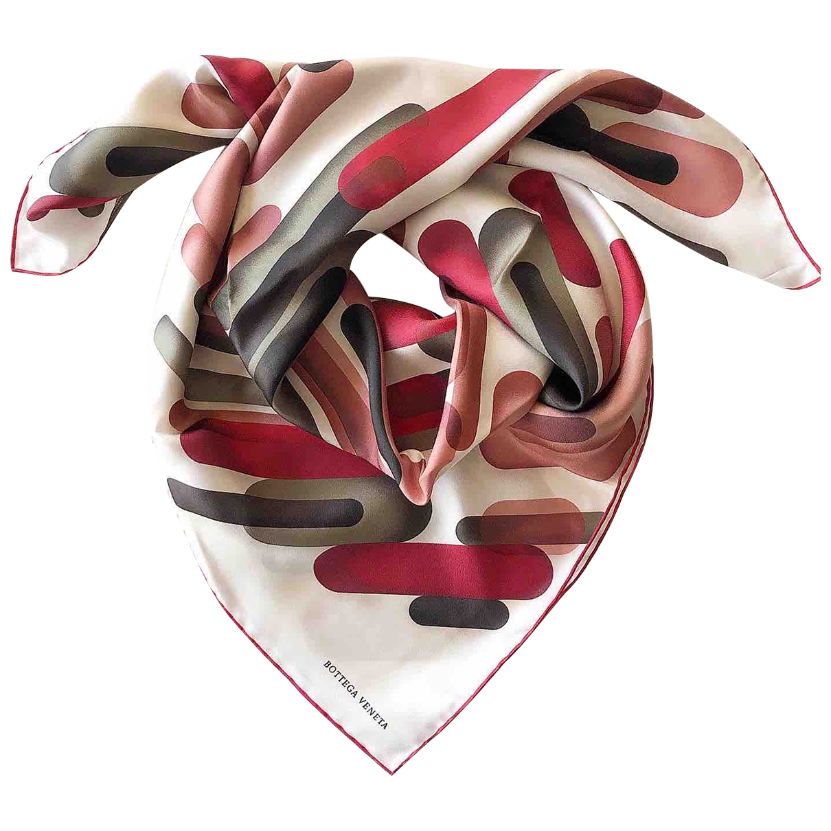 Bottega Veneta - Foulard   pour femme en soie - multicolore