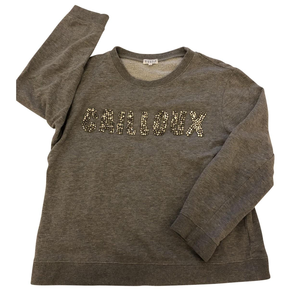 Claudie Pierlot \N Pullover in  Grau Baumwolle