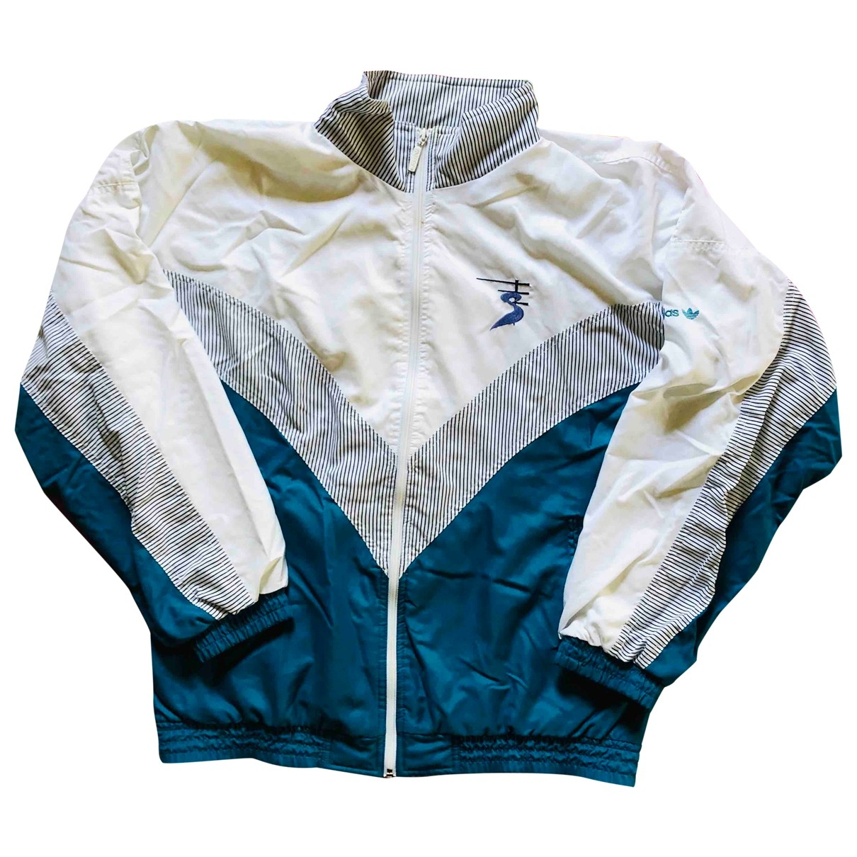 Adidas \N Jacke in  Weiss Polyester