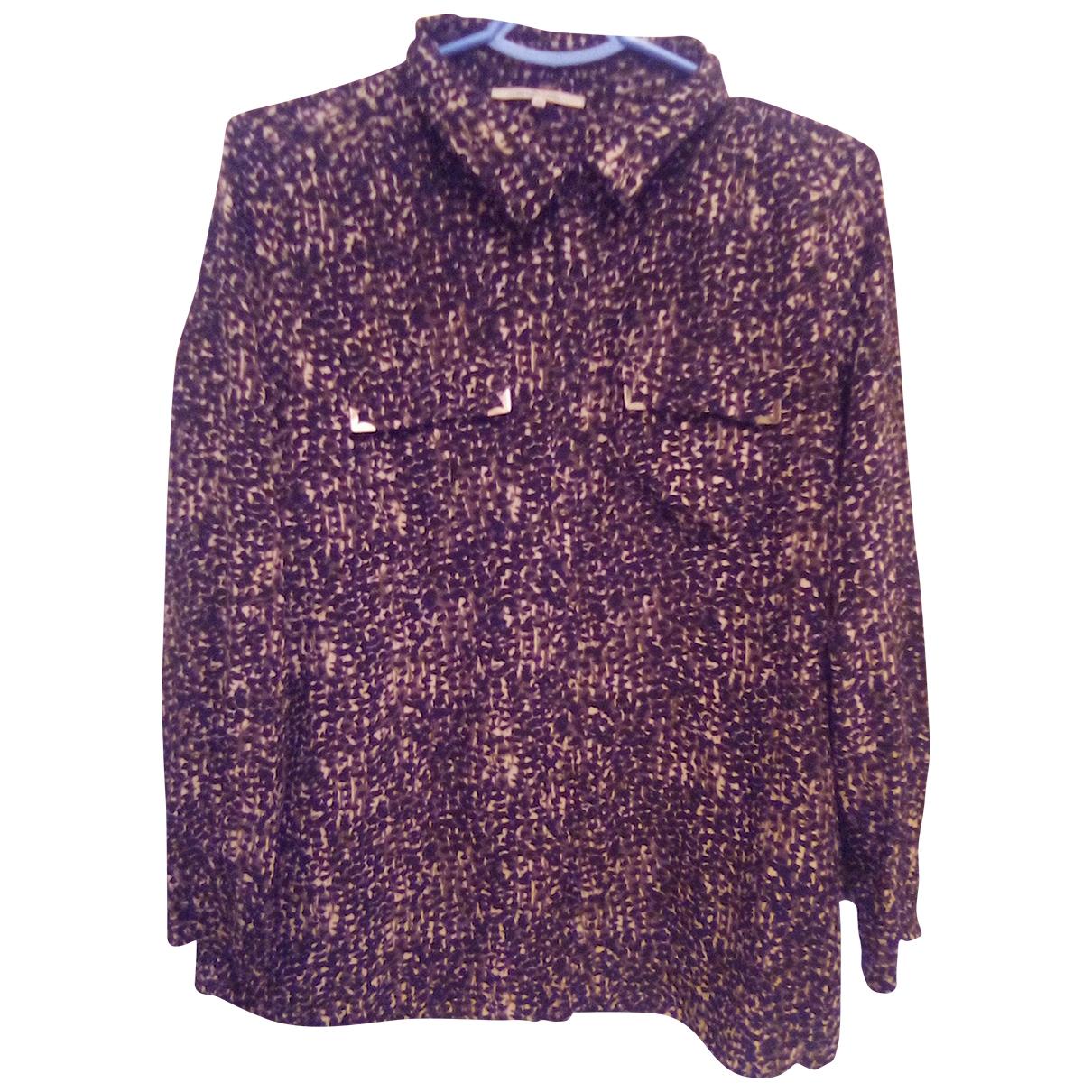 Gerard Darel \N Brown Silk  top for Women 40 FR