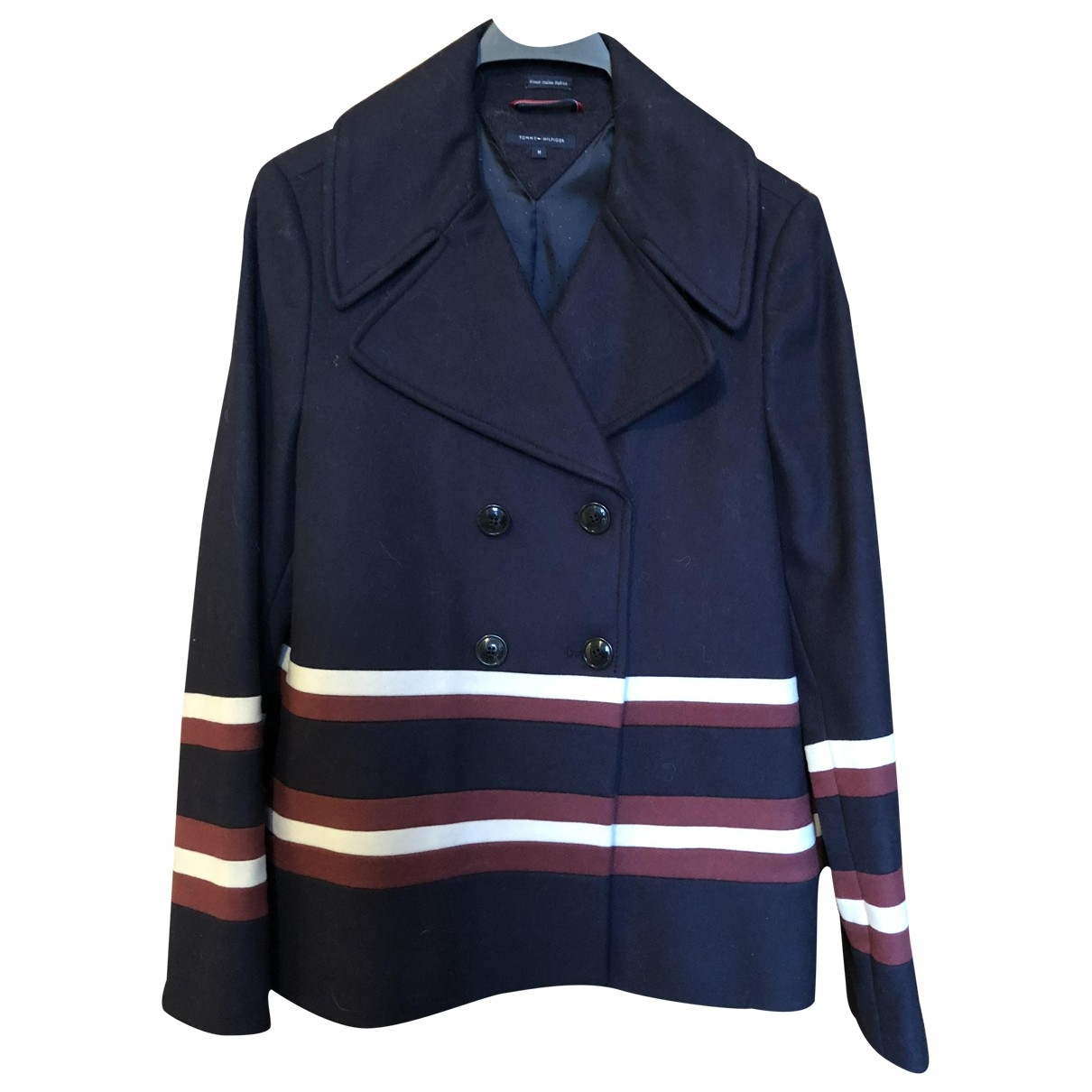 Tommy Hilfiger \N Navy Wool coat for Women M International