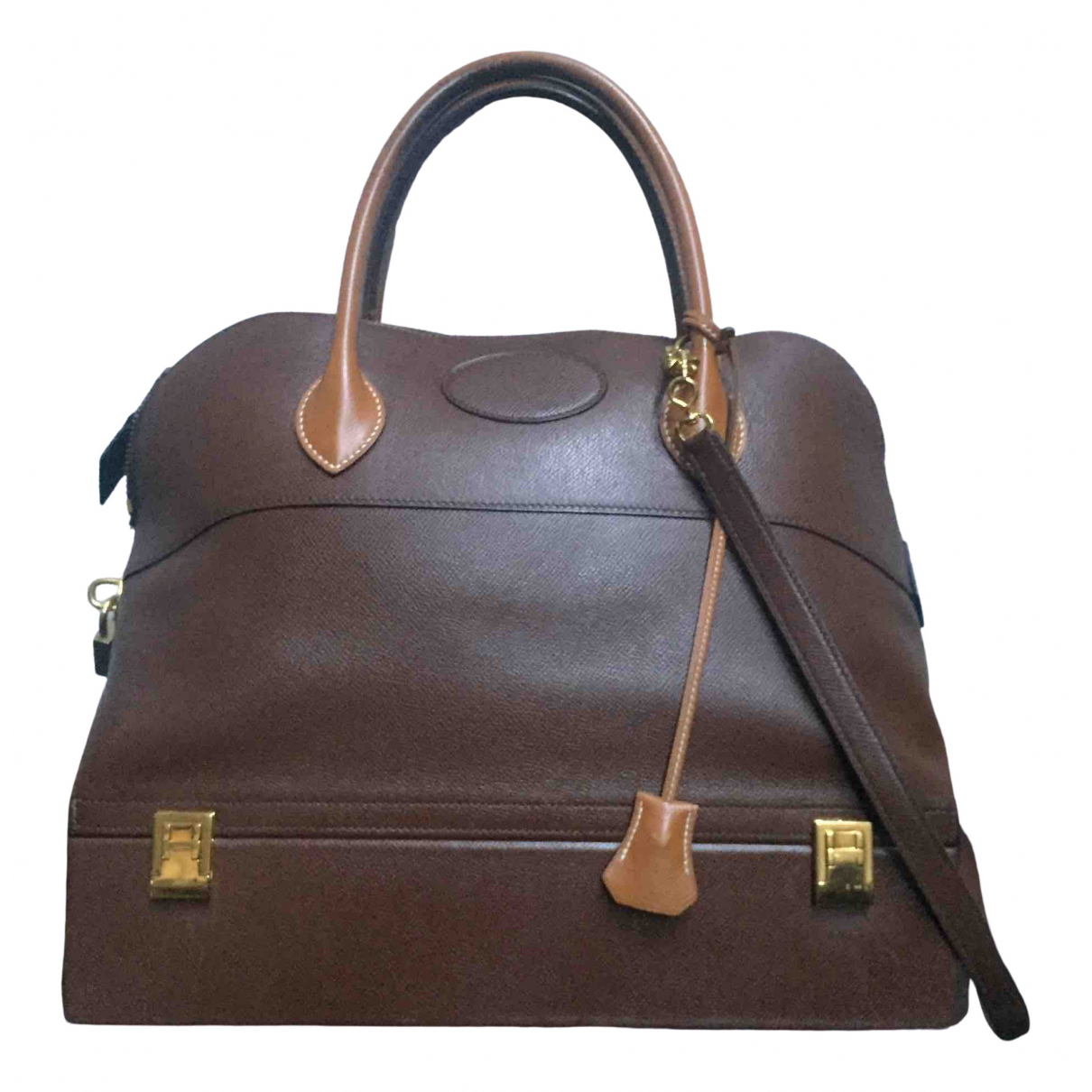 Hermès Macpherson Brown Leather handbag for Women \N