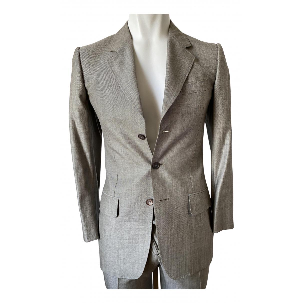 Yves Saint Laurent - Costumes   pour homme en laine - gris