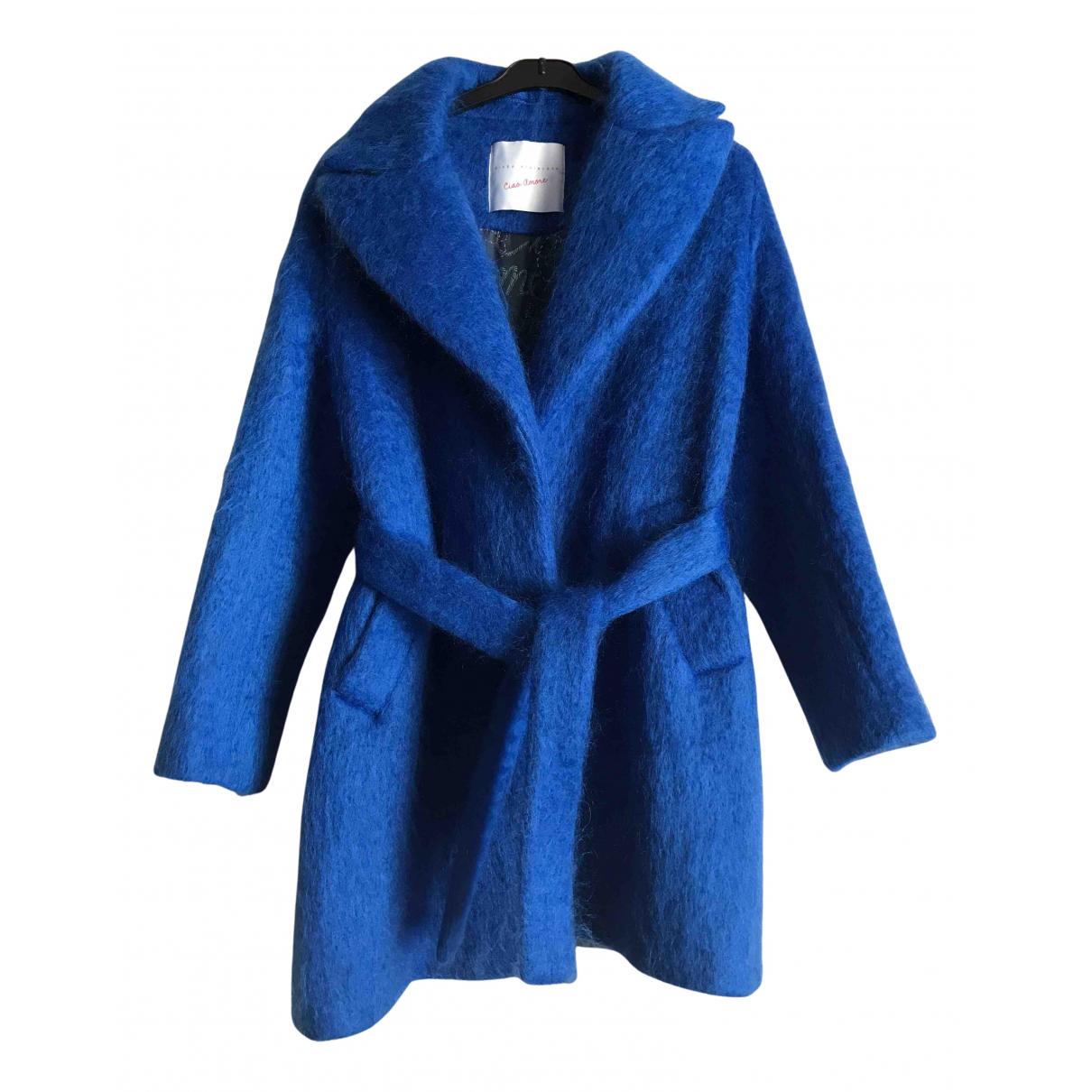 Giada Benincasa N Blue Wool coat for Women S International