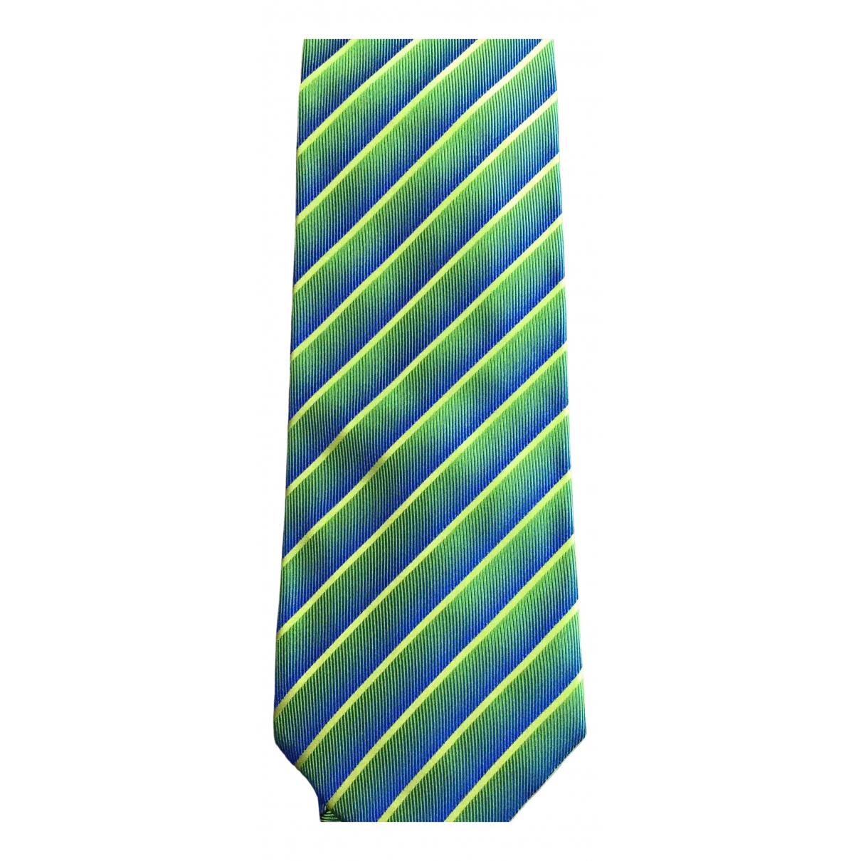 Gucci N Green Silk Ties for Men N