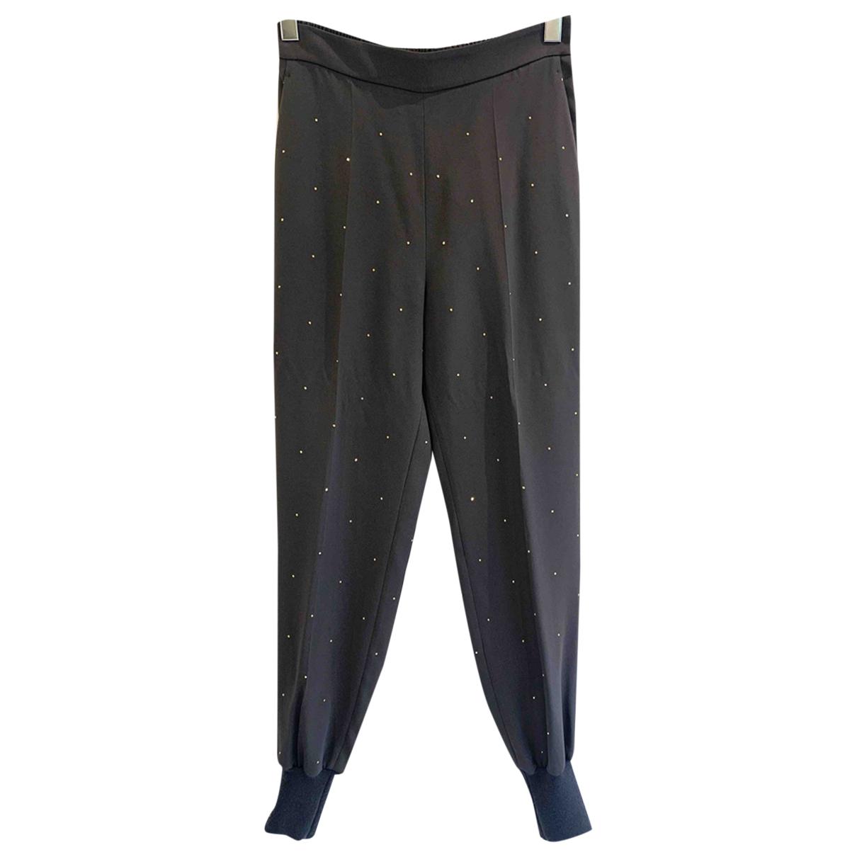 Pantalon en Viscosa Gris Stella Mccartney
