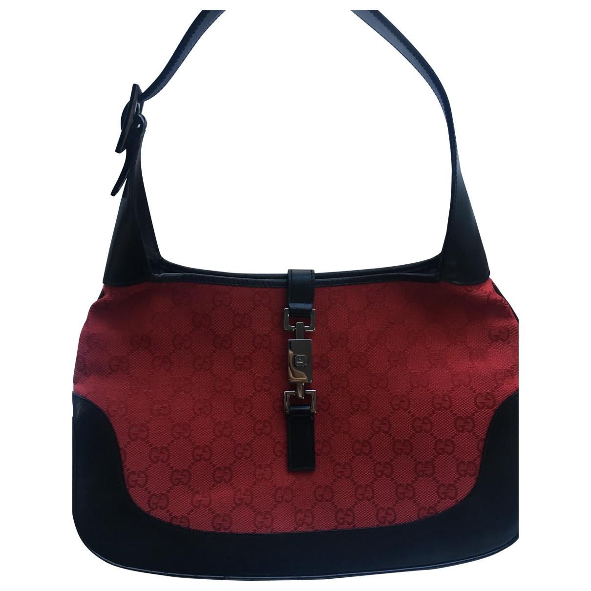 Gucci Jackie Vintage  Red Cloth handbag for Women \N