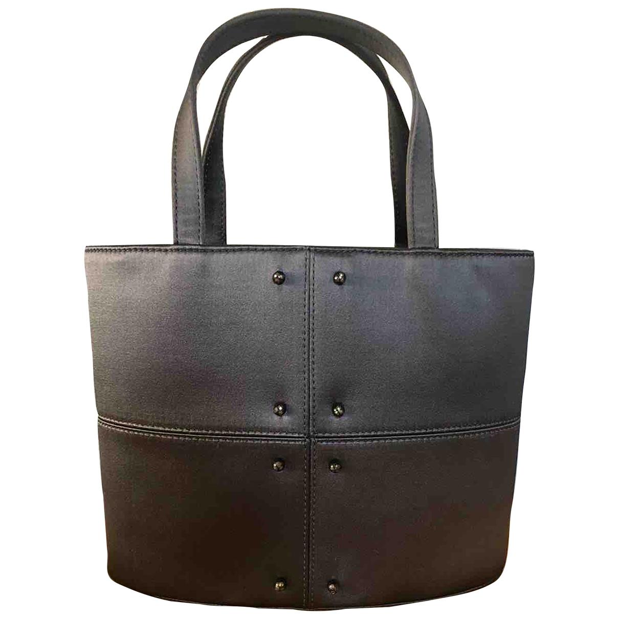 Tods \N Handtasche in  Anthrazit Seide