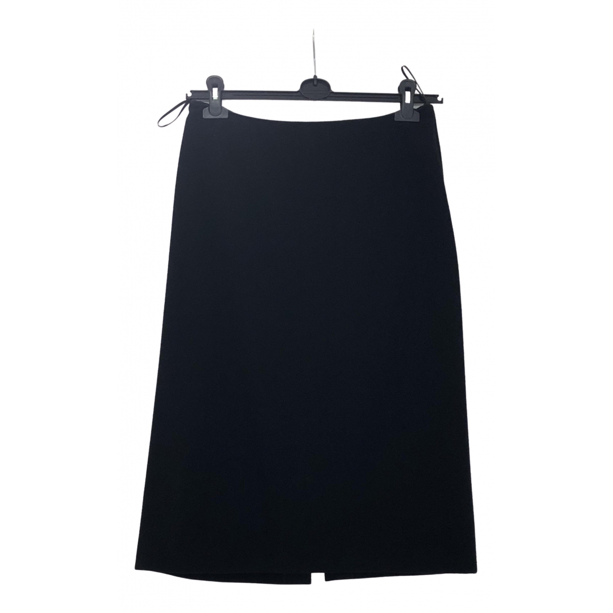 Jil Sander \N Black Cashmere skirt for Women 38 FR
