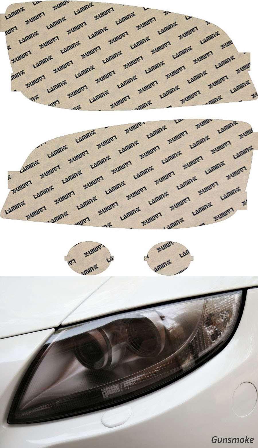 Hyundai XG350 03-06 Gunsmoke Headlight Covers Lamin-X HY005G