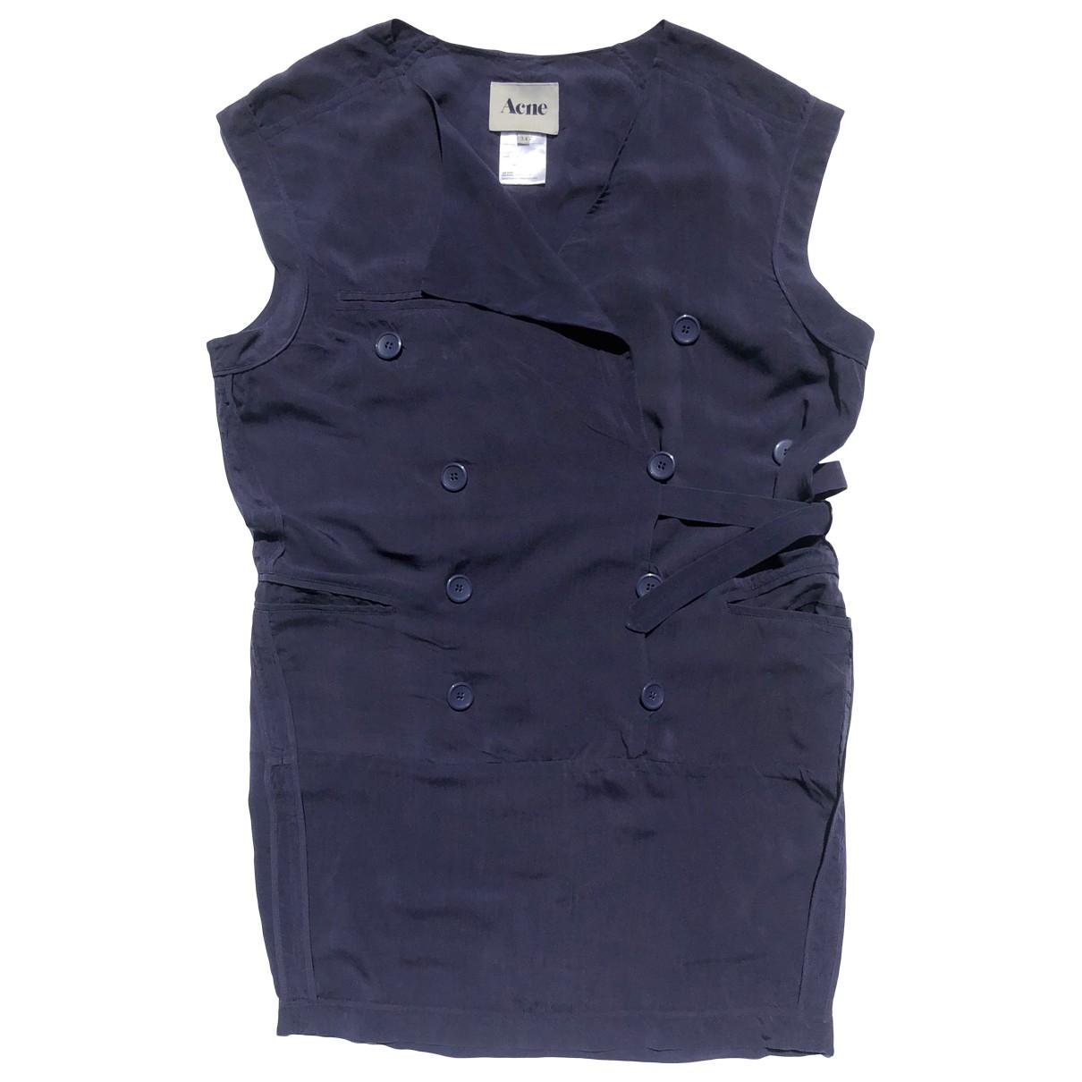 Acne Studios \N Navy dress for Women 36 FR
