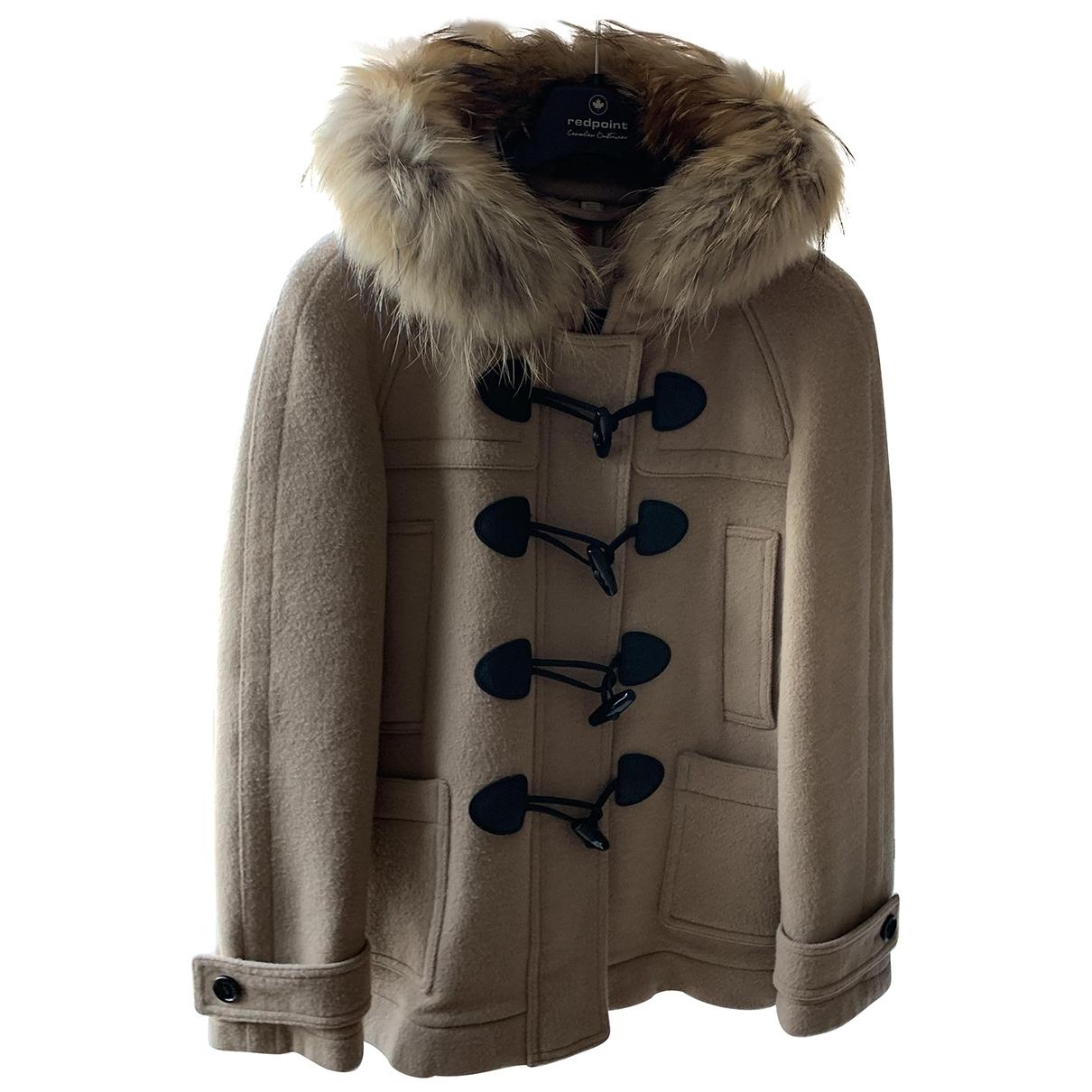 Burberry \N Beige Wool coat for Women 10 UK