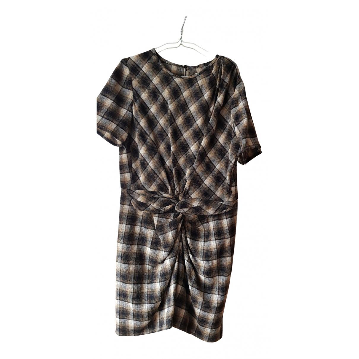 Isabel Marant Etoile \N Kleid in  Braun Wolle