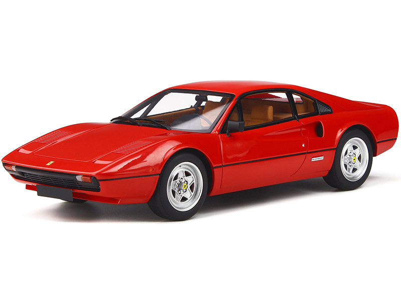 Ferrari 308 GTB Rosso Corsa Red Limited Edition to 999 pieces Worldwide 1/18 Model Car by GT Spirit