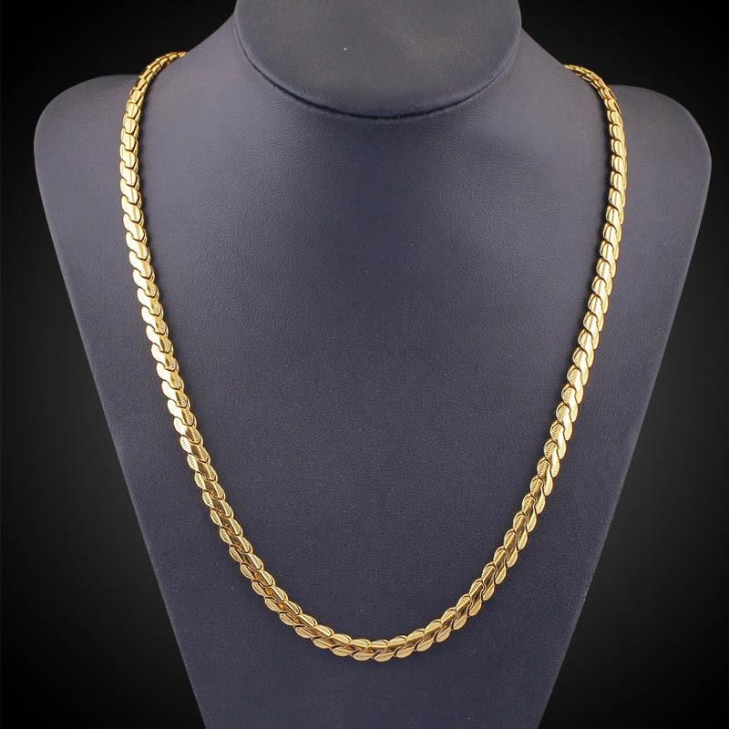 Ericdress Best Seller 18K Gold Plating Men's Necklace
