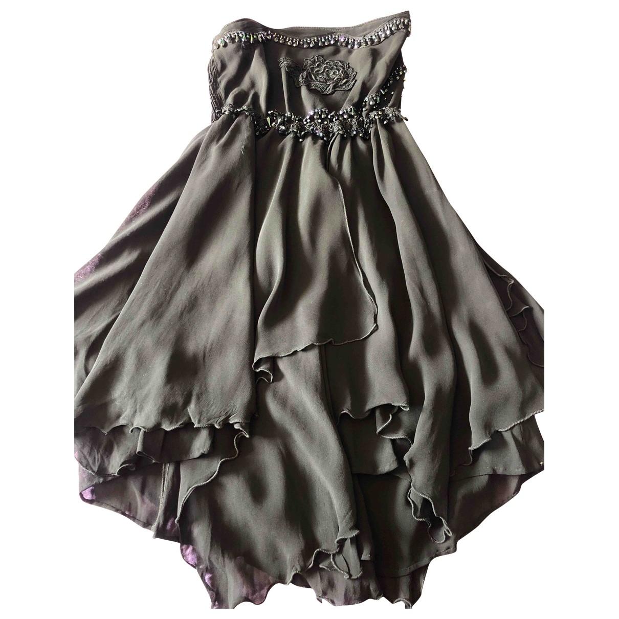 Non Signé / Unsigned \N Black Glitter skirt for Women 40 IT