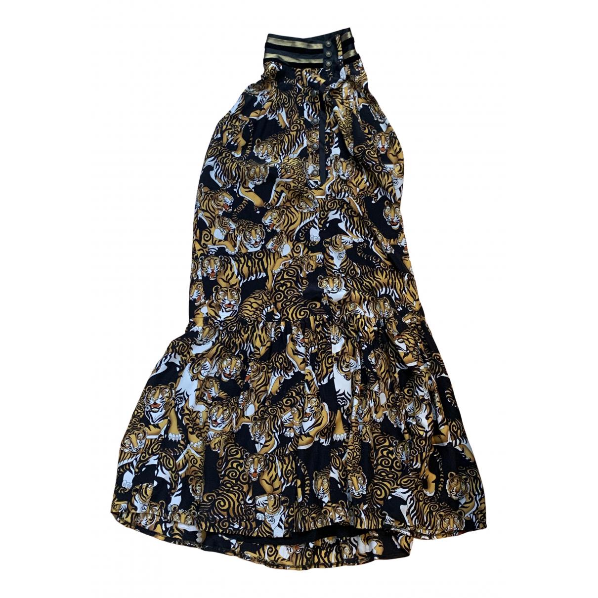 Gucci \N Kleid in  Bunt Seide