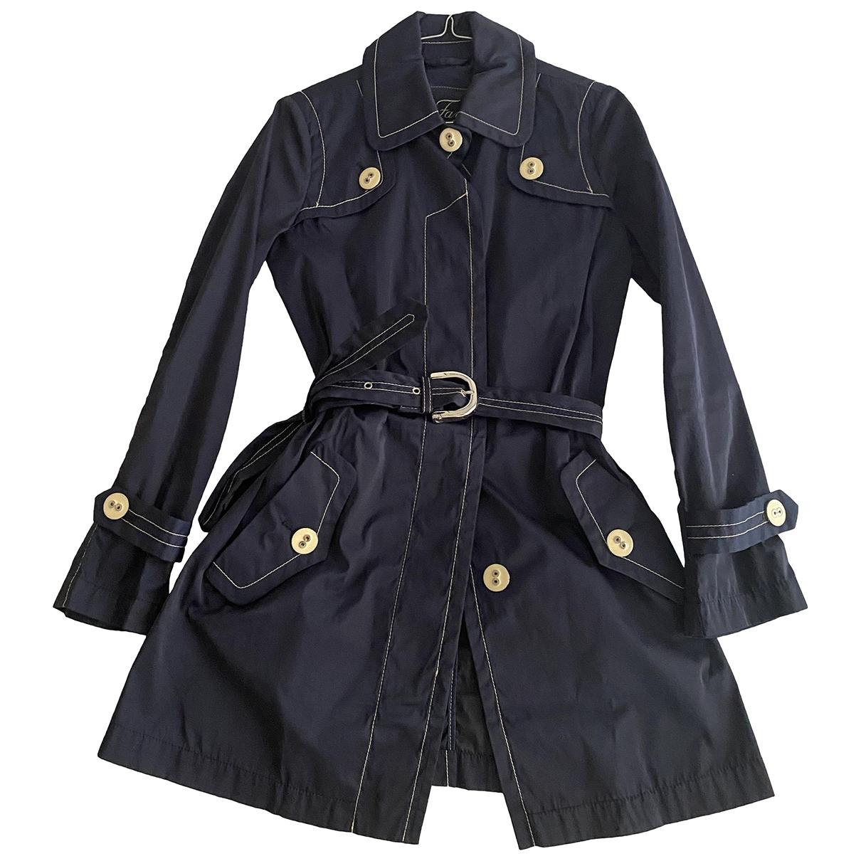 Fay \N Blue Trench coat for Women XS International