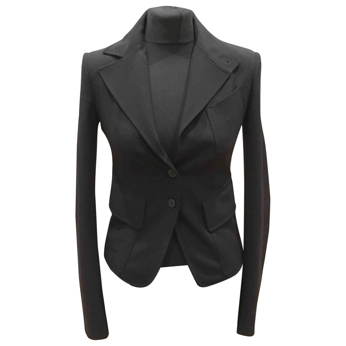 Patrizia Pepe \N Black Wool jacket for Women 40 IT