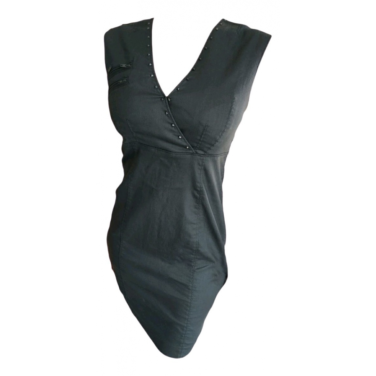Ikks \N Kleid in  Schwarz Denim - Jeans