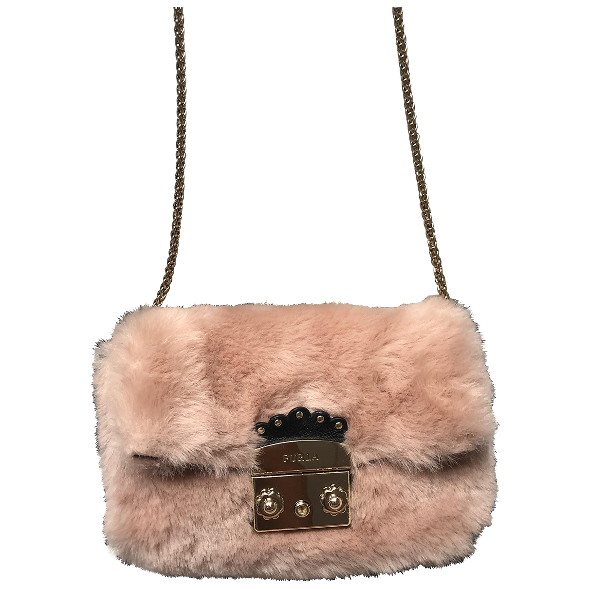 Furla Metropolis Pink Clutch bag for Women \N