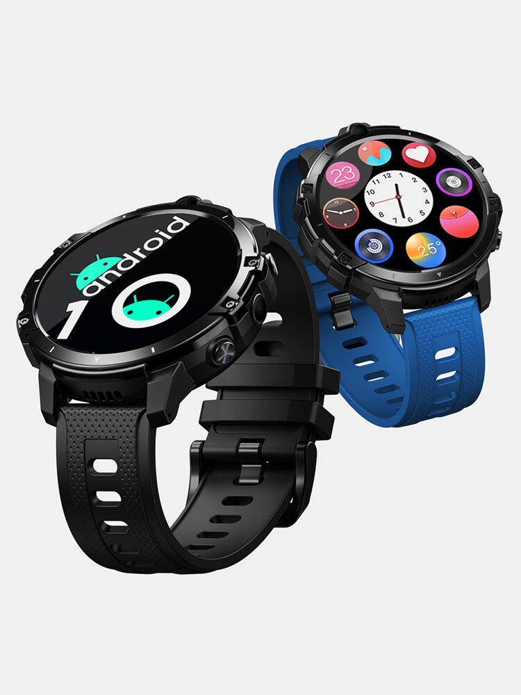 Android 10 OS Face Unlock 4G Smart Watch WIFI GPS Long Standby 4G LTE Global Bands Watch Phone