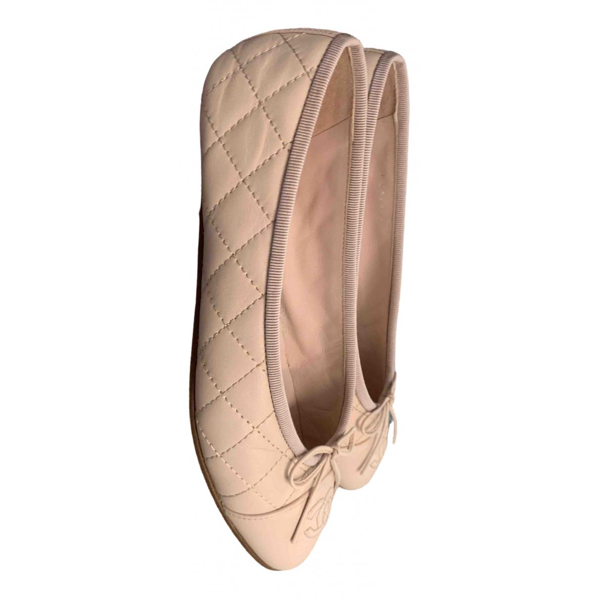 Bailarinas de Cuero Chanel