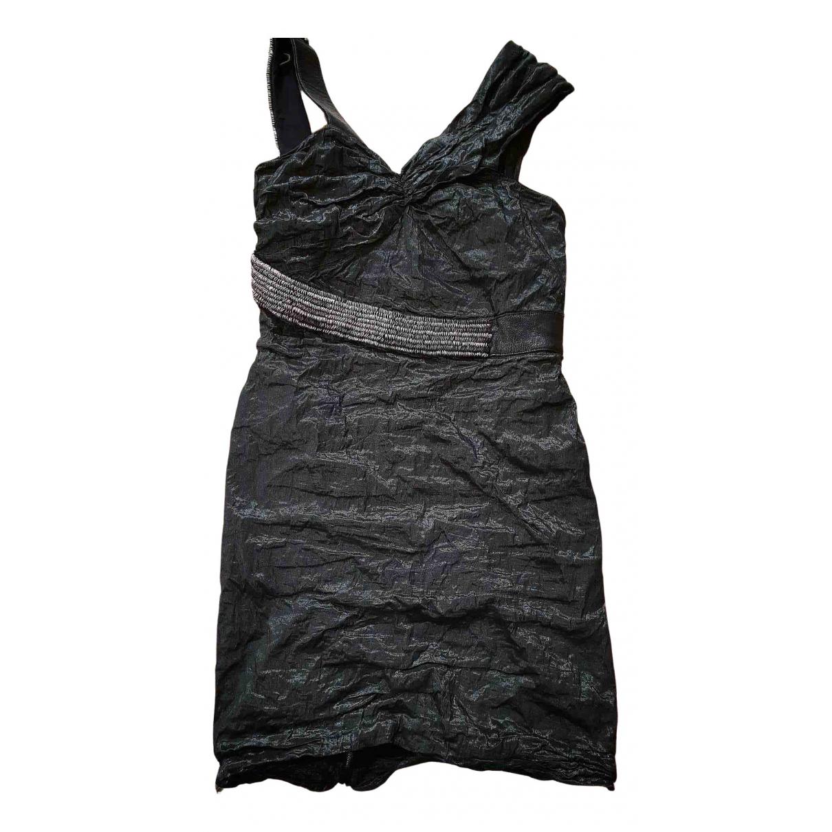 Yigal Azrouel \N Kleid in  Schwarz Baumwolle
