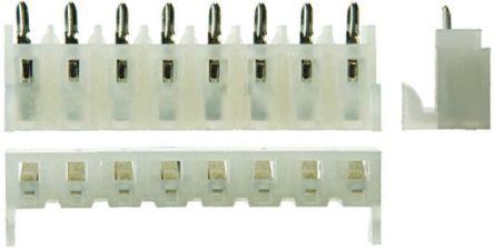 Molex , KK, 3002 5.08mm Pitch 8 Way 1 Row Straight PCB Socket, Through Hole, Solder Termination (5)